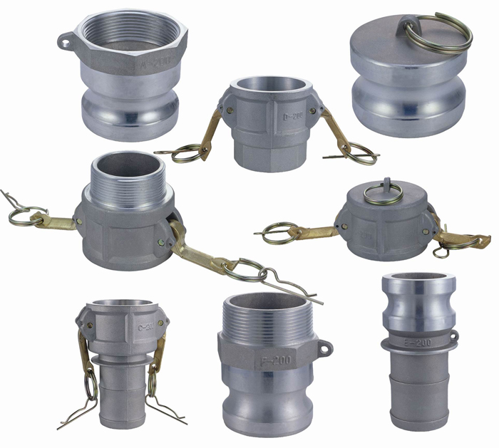 Hose fittings and clamps aluminum camlock coupling pvc